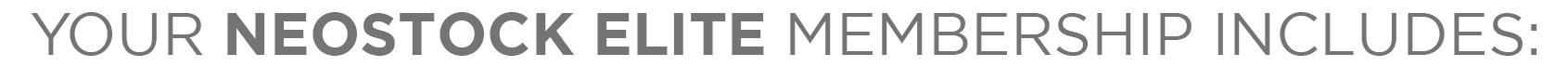 member benefits join neostock elite header
