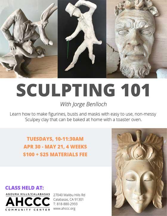 Sculpting 101 Flyer