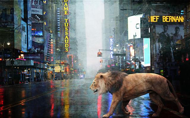 NYC-lion