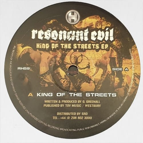 Download Resonant Evil - King Of The Streets EP mp3
