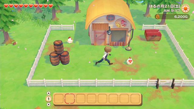 「牧場物語」系列首次在Nintendo SwitchTM平台推出全新製作的作品!  『牧場物語 橄欖鎮與希望的大地』 於今日2月25日(四)發售 011