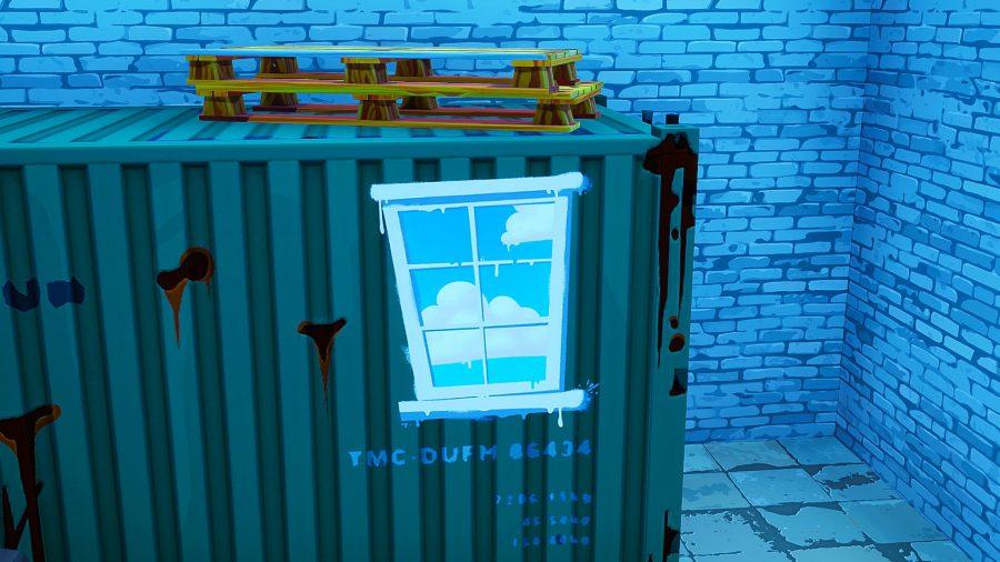 Fortnite - где найти контейнеры с окнами? Карта контейнеров с окнами