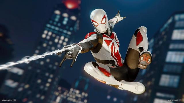 SIE Insomniac工作室宣佈PS4版《漫威蜘蛛人》將通過更新添加存檔轉移至PS5版的功能,另外還會添加三件全新服裝,此更新預計在感恩節左右(11月26日)推出。 Image