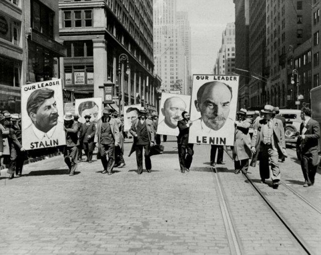 Коммунисты в Нью-Йорке