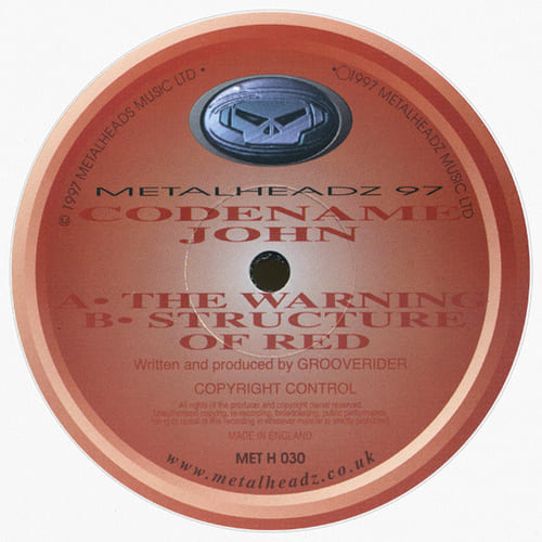Download Codename John - The Warning / Structure Of Red mp3