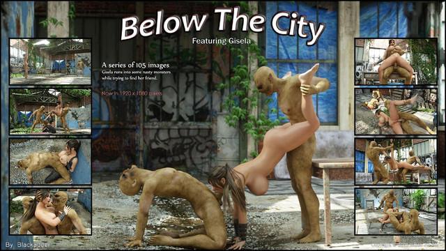 Blackadder – Below The City - 情色卡漫 -