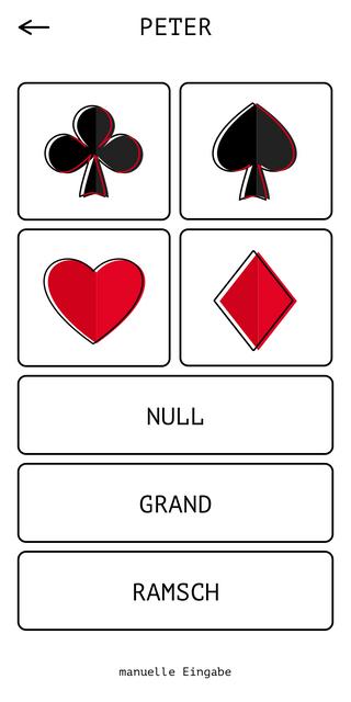 Spiel-Eintragung