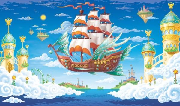 Волшебный кораблик