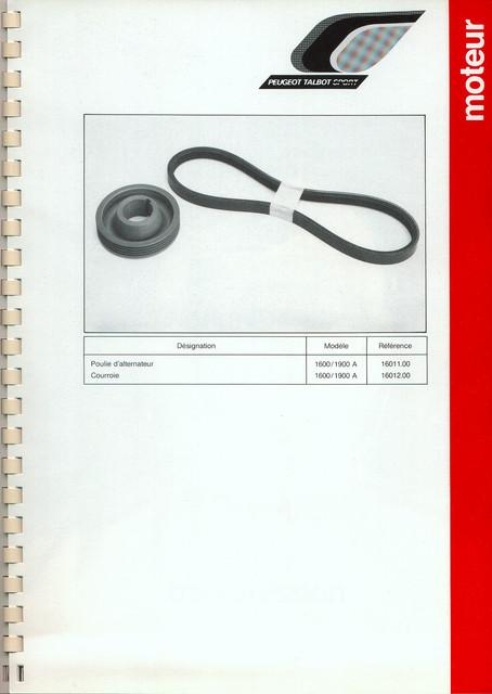 Catalogue PTS pièces compétition - 205 GTI 1600-1900 gr. N/A PTS-Moteur-12