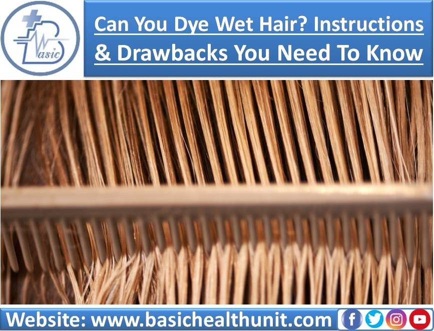 How Can You Dye Wet Hair? Instructions & Drawbacks You Need To Know