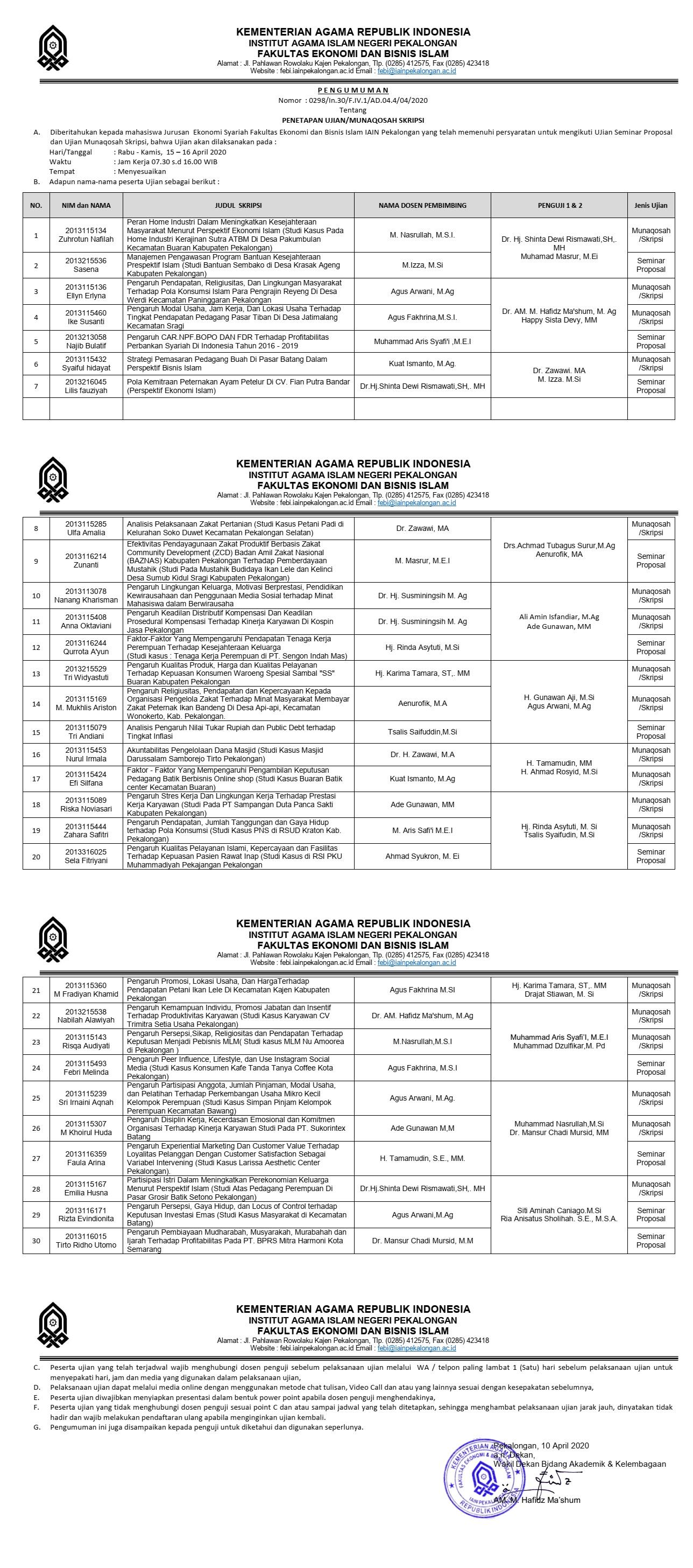 Munaqosah-15-16-April-2020