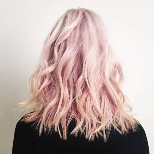 rose gold -hair-color