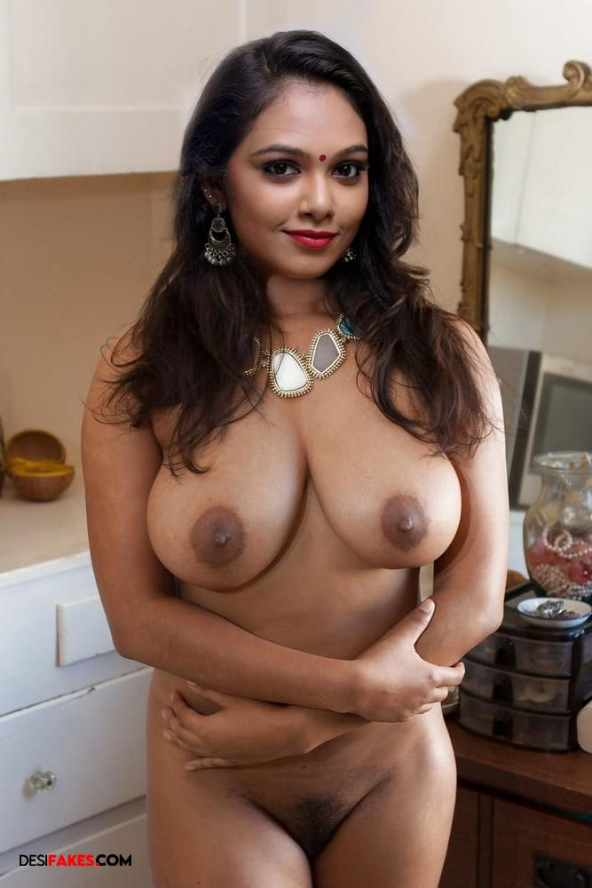 Rebecca Santhosh Nude boobs