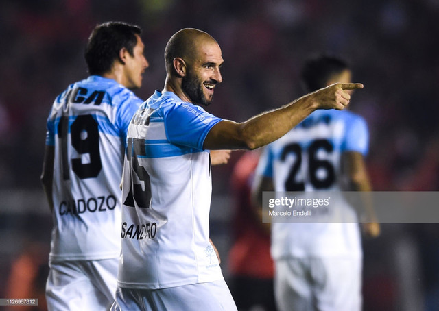 AVELLANEDA-ARGENTINA-FEBRUARY-23-Lisandro-Lopez-of-Racing-Club-celebrates-after-scoring-the-second-g