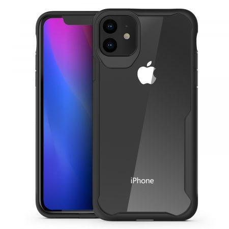 Чехол для iPhone 11 от Olixar NovaShield - черный / прозрачный