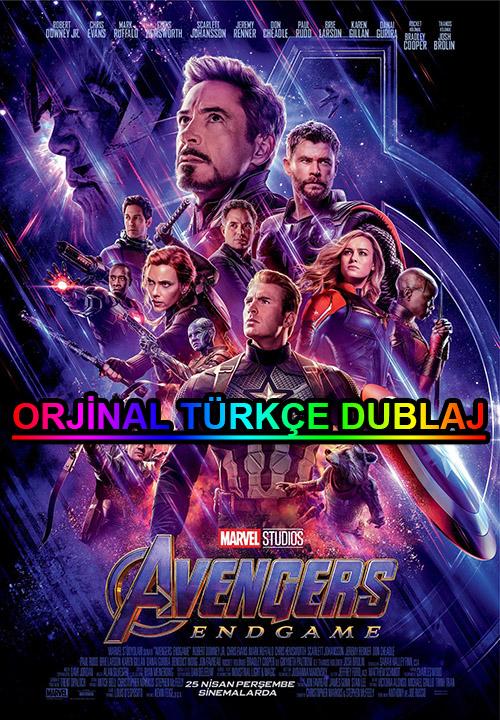 Yenilmezler 4: Son Oyun | Avengers 4: End Game | 2019 | BDRip | XviD | Türkçe Dublaj | 4K - 720p - 1080p - m720p - m1080p | BluRay | Dual | TR-EN | Tek Link