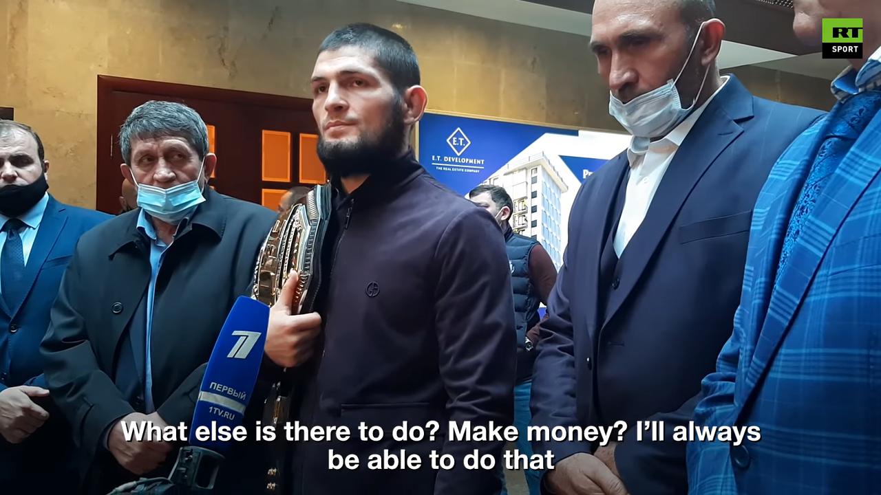 Хабиб Нурмагомедов: Мисията ми е изпълнена