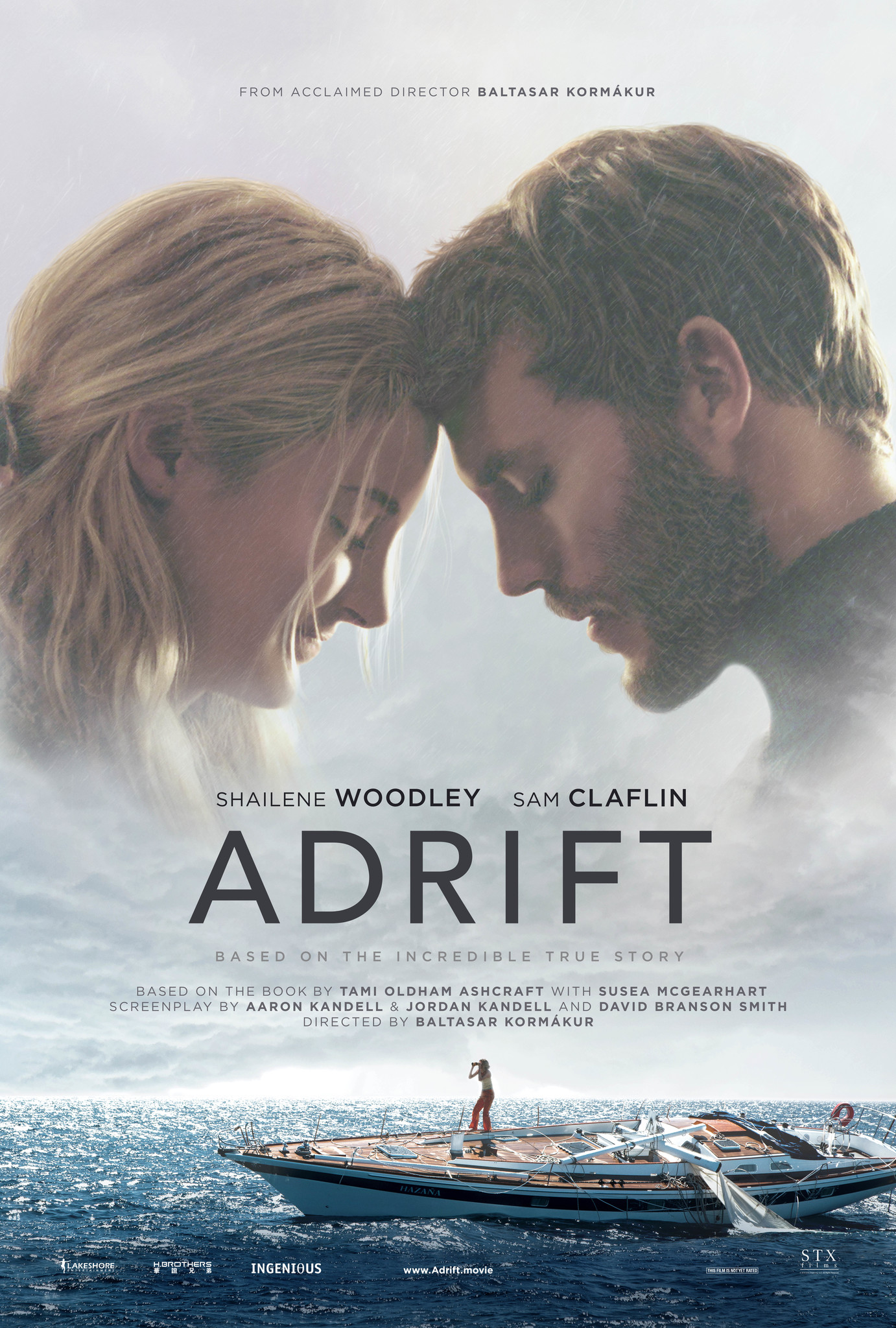 Adrift 2018 Hindi ORG Dual Audio 720p BluRay ESubs 900MB | 350MB Download