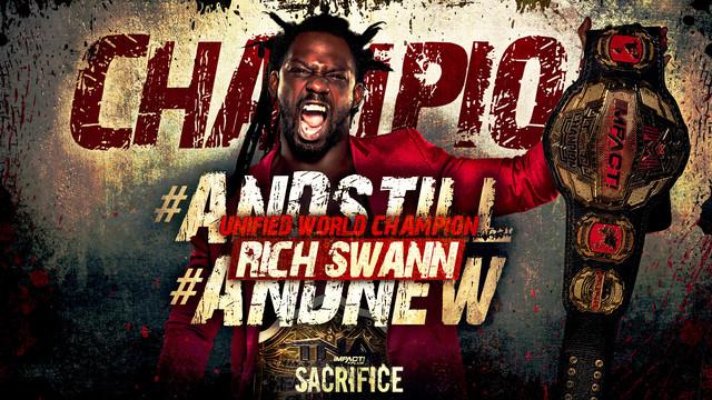 Rich Swann Nuevo Campeón Mundial de IMPACT Unificado