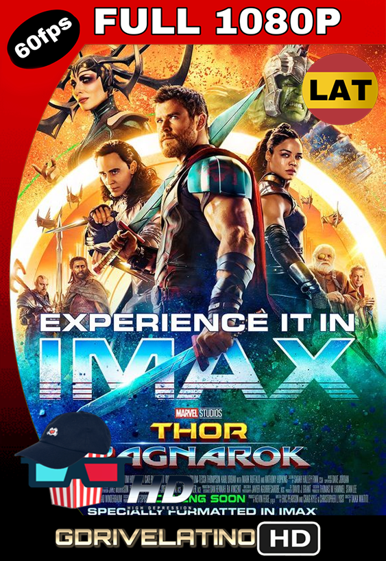 Thor: Ragnarok (2018) BDRip FULL 1080p IMAX EDITION Latino MKV