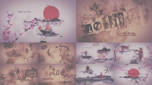 Mythic Ink Bundle 30259786 - Project for After Effects (Videohive)