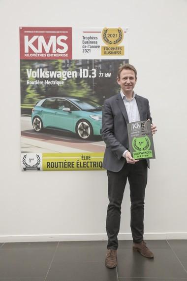 Trophées Business 2021 : l'ID.3 remporte le prix de la Routière Electrique de l'Année 7J9A6336
