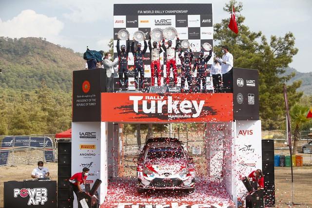 Retour en images sur un week-end exceptionnel pour TOYOTA GAZOO Racing qui remporte les 24 Heures du Mans et le Rallye de Turquie  Wrc-2020-rd-5-206