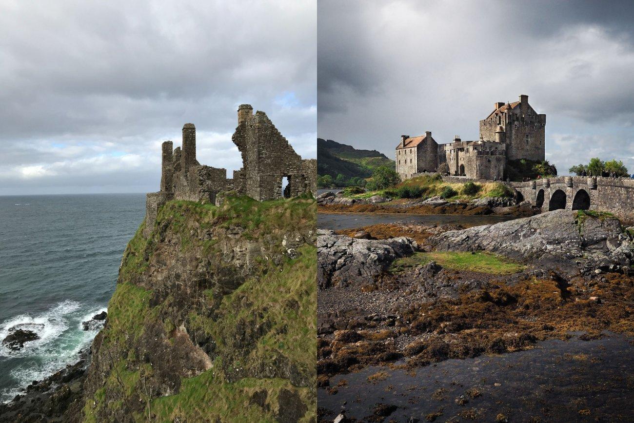 Castles Scotland and Ireland