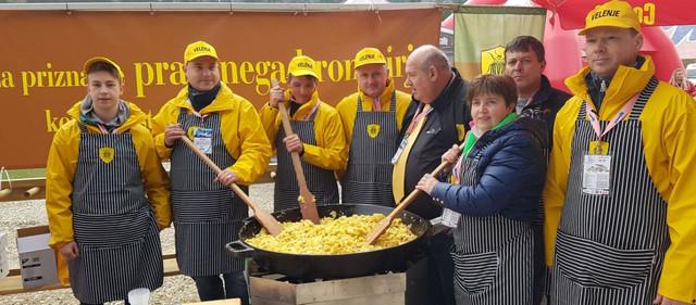 Dogodki prazen krompir