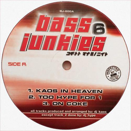 DJ Kaos / DJ Hype / DJ Bodyrock - Bass Junkies 6