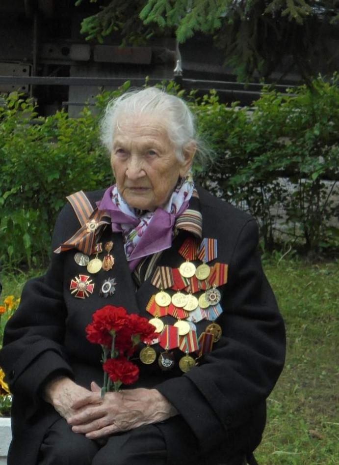 Широкова Валентина Егоровна (17.03.1922 - 17.06.2020)