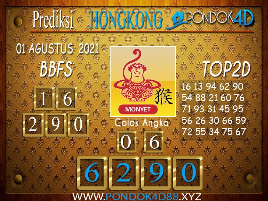 Prediksi Togel HONGKONG PONDOK4D 01 AGUSTUS 202