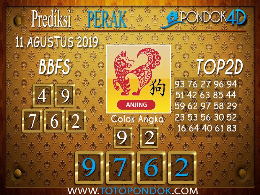 Prediksi Togel PERAK POOLS PONDOK4D 11 AGUSTUS 2019