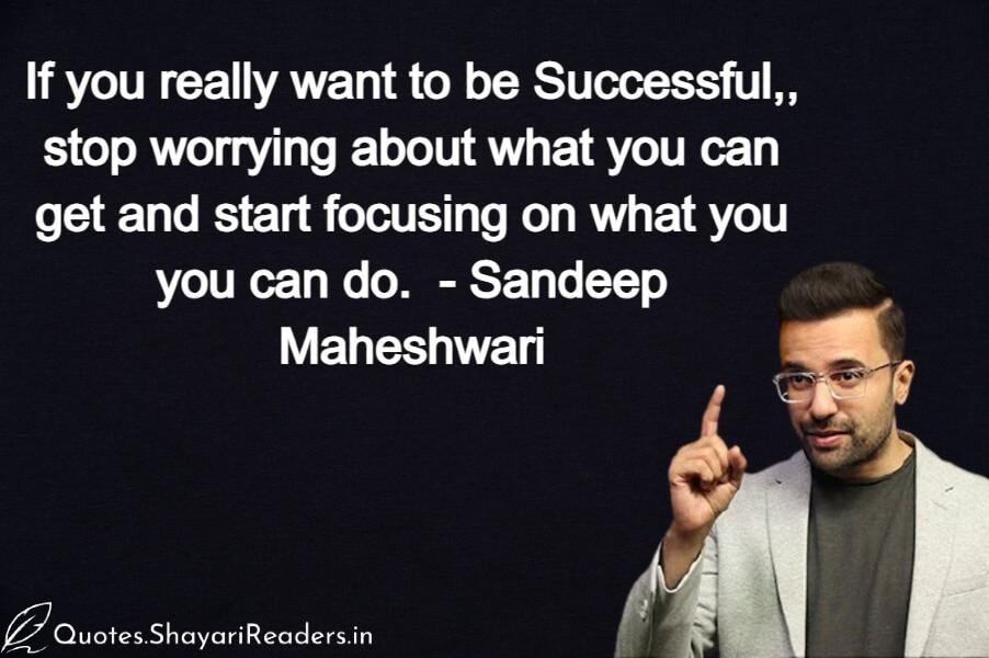 Sandeep Maheshwari Thought