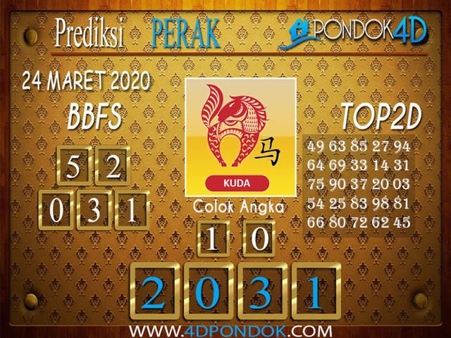 Prediksi Togel PERAK PONDOK4D 24 MARET 2020