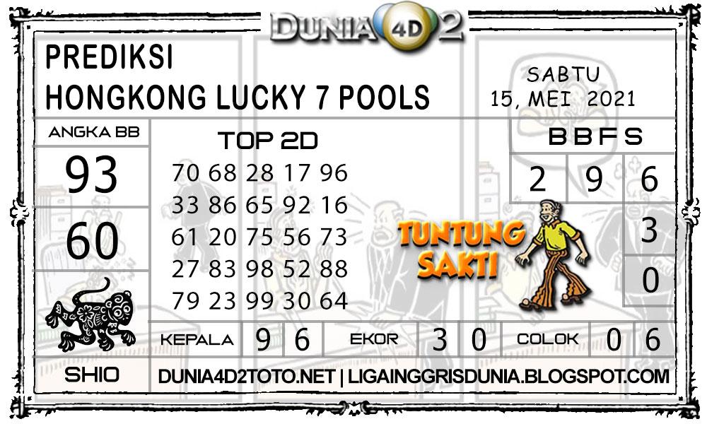 Prediksi Togel HONGKONG LUCKY7 DUNIA4D2 15 MEI 2021