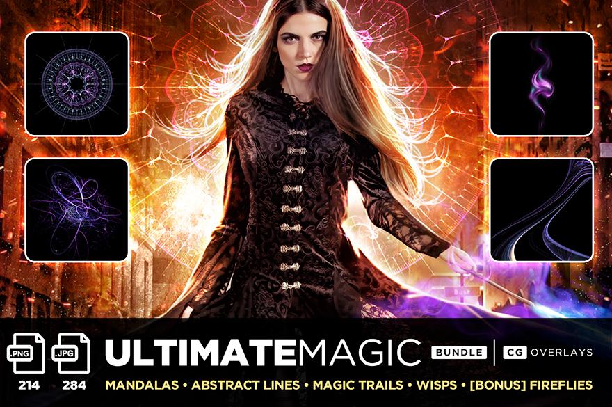 ultimate magic overlay bundle title