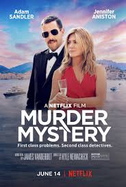 Murder Mystery (2019) NF [Dual Audio] HDRip 720p