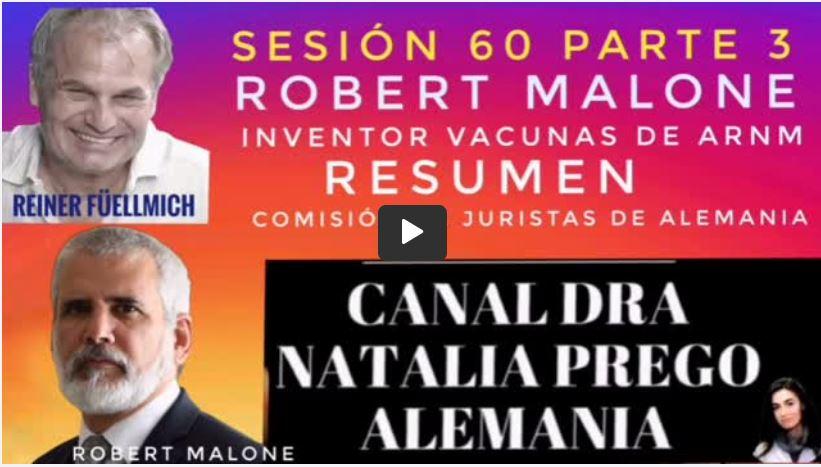 ROBERT MALONE EXPONE CON LA VERDAD.