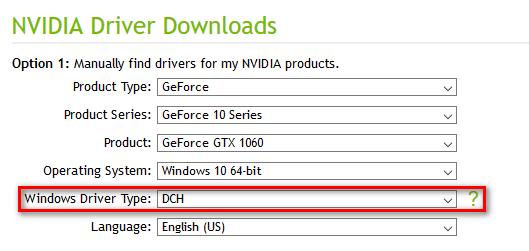 Nvidia-DCH-Drivers