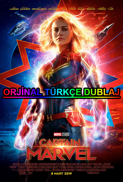 Kaptan Marvel | Captain Marvel | 2019 | BDRip | XviD | Türkçe Dublaj | 4K - 720p - 1080p - m720p - m1080p | BluRay | Dual | TR-EN | Tek Link