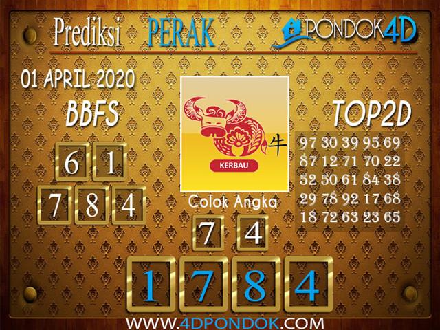 Prediksi Togel PERAK PONDOK4D 01 APRIL  2020