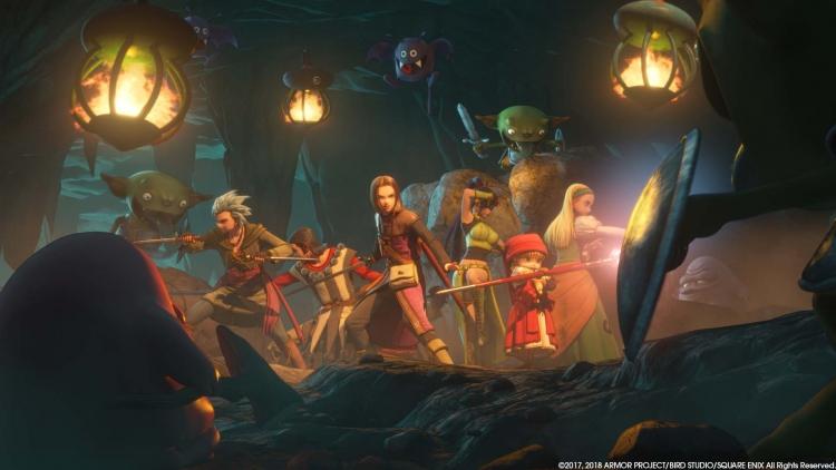 Dragon Quest XI выйдет на Nintendo Switch в 2019 году
