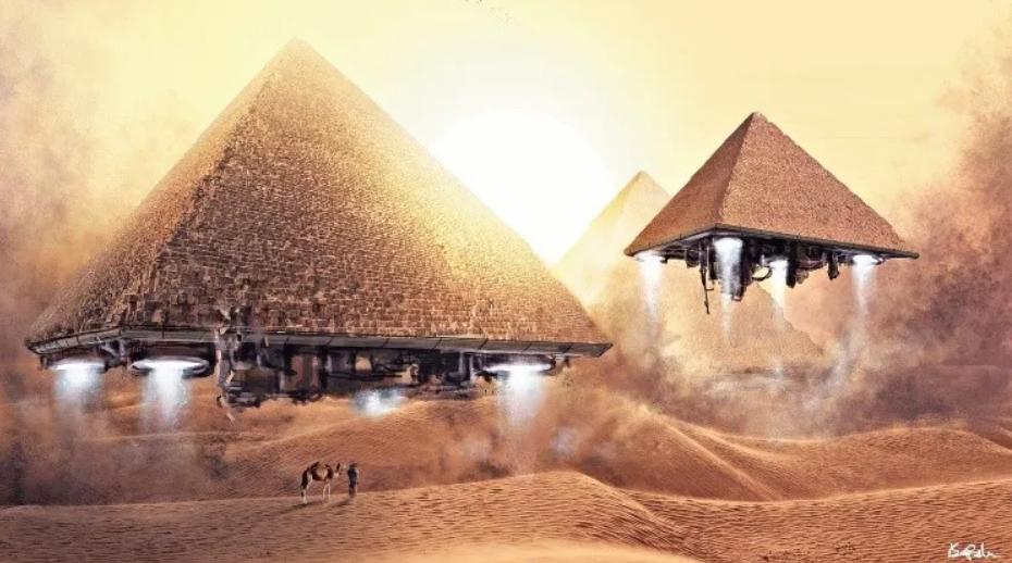 Le Piramidi di Giza sono state costruite dagli Alieni?