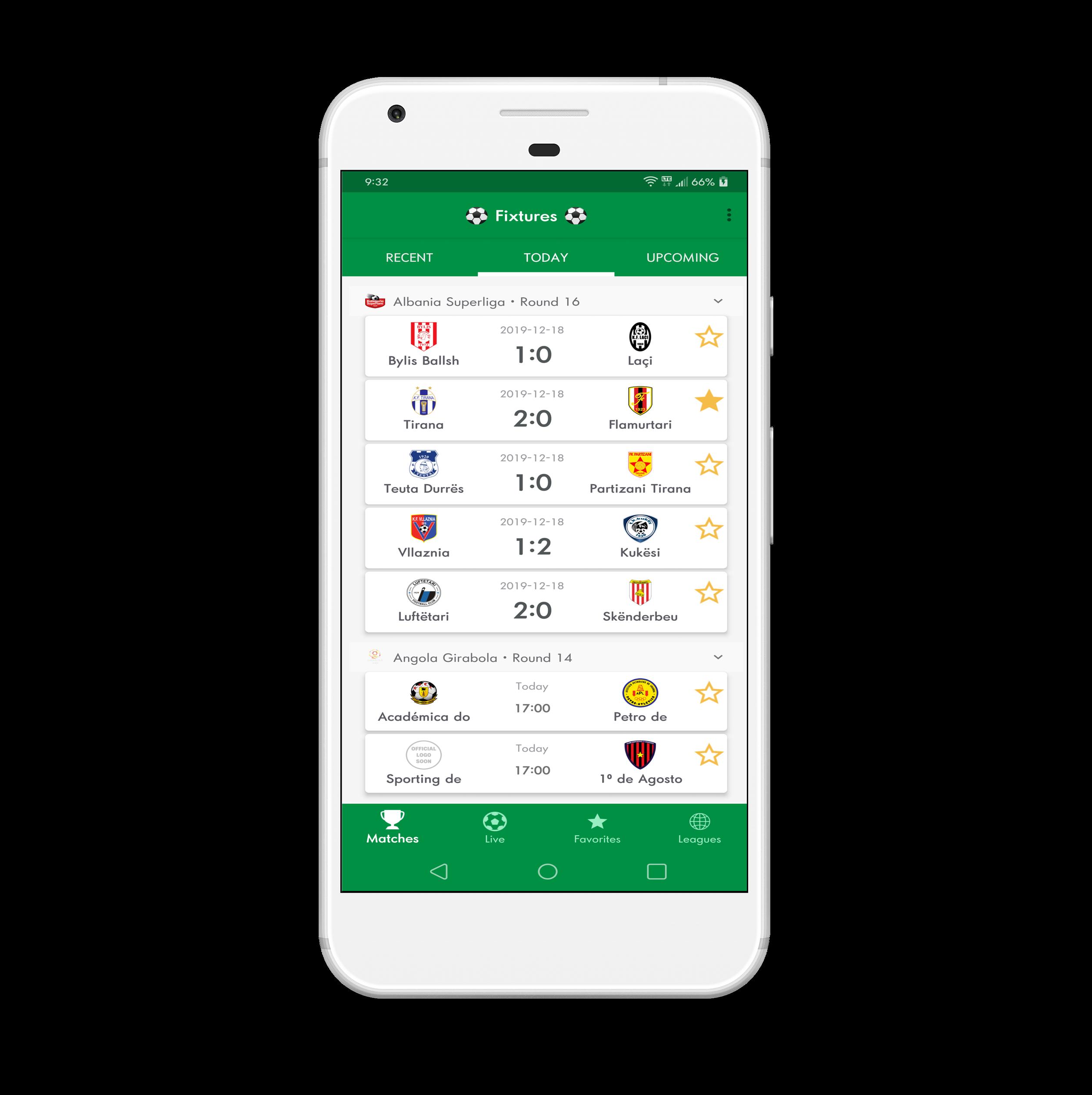 LiveScore - Football Android Full App (Admob) - 1