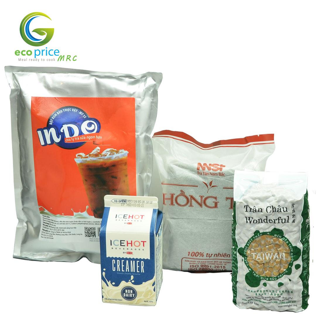 Combo Trà Sữa Trân Châu- 8 lít trà sữa- 4 món- Ami
