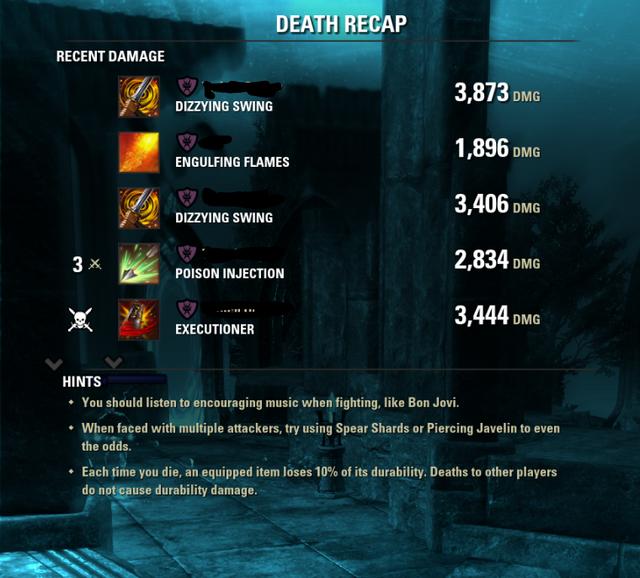 Resistances are broken in this game — Elder Scrolls Online