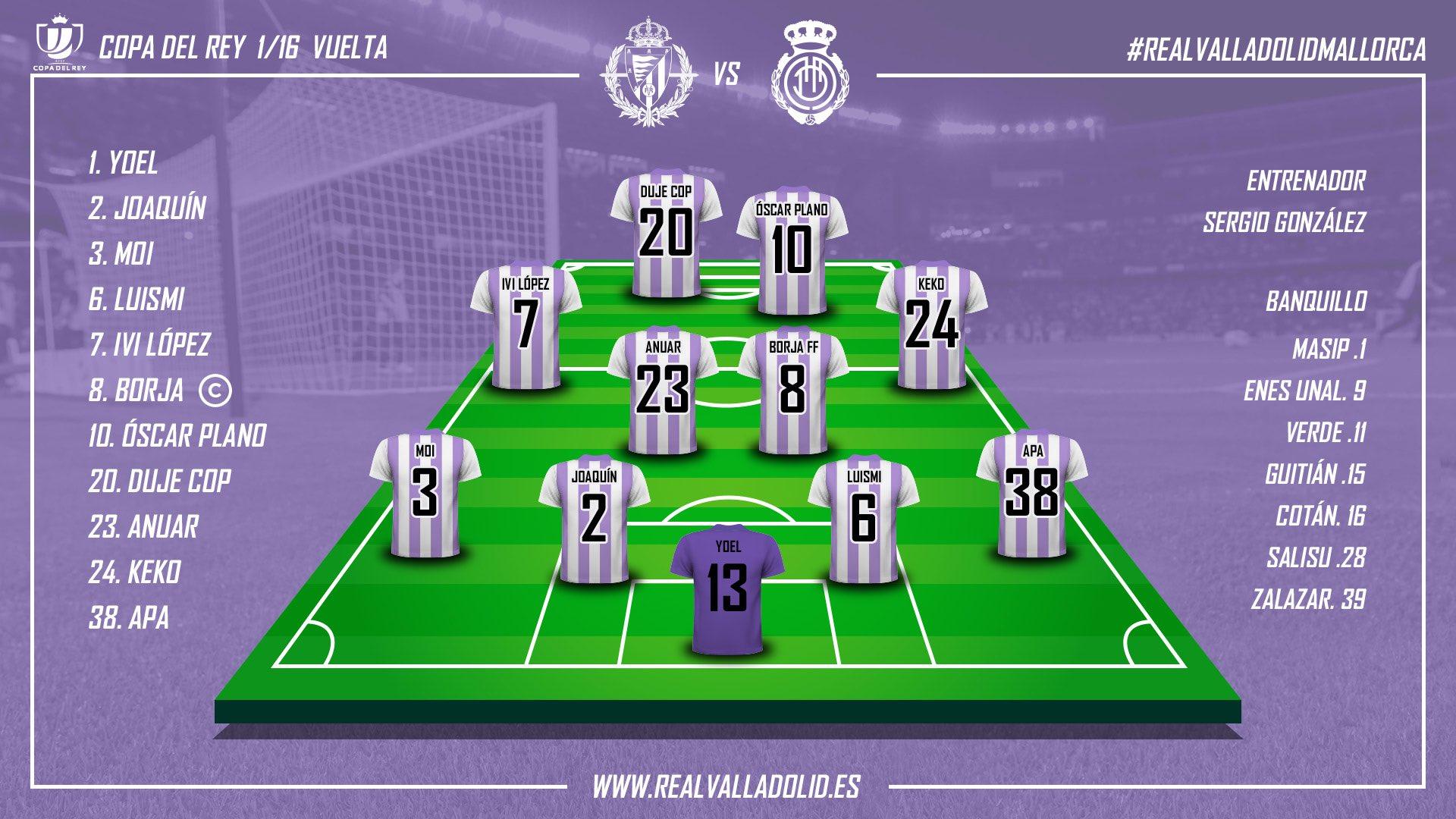 Real Valladolid - R.C.D. Mallorca. Miércoles 5 de Diciembre. 21:30 IMG-20181205-201839