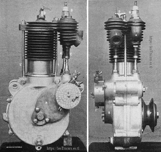 moteur Werner 1904