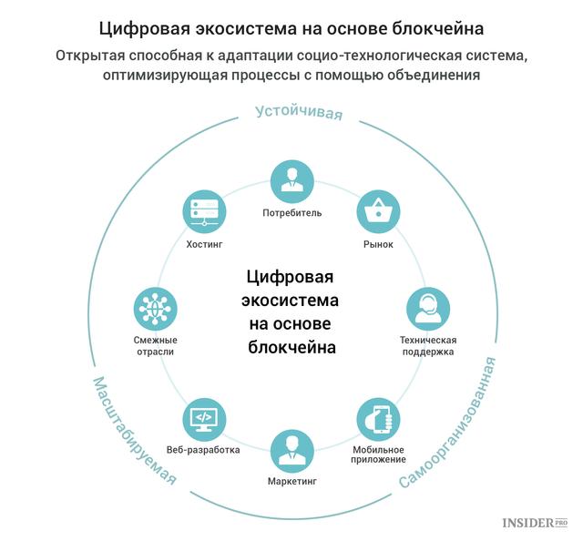 Цифровая экосистема блокчейна
